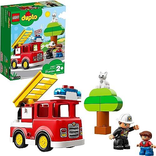 LEGO Duplo Town Fire Truck Building Kit 10901
