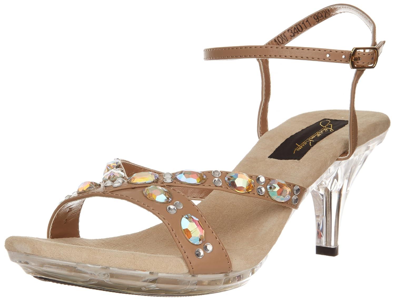 Benjamin Walk Johnathan Kayne Women's Vienna Platform Sandal B00ALFJFMS 10.5 B(M) US|Taupe Polyurethane