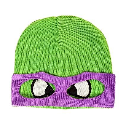Las tortugas ninja - gorro de Donatello - al estilo retro ...
