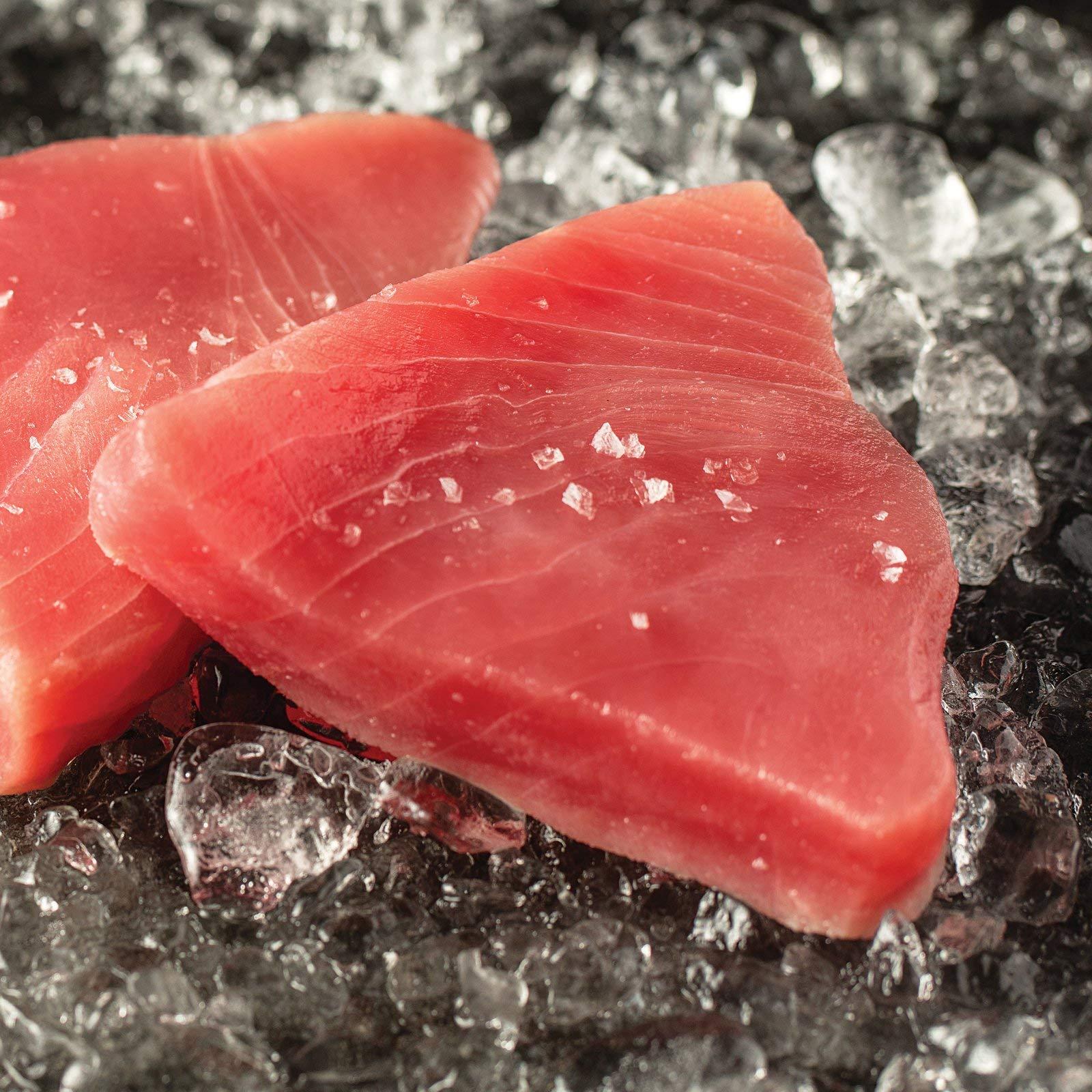 Omaha Steaks 2 (6 oz.) Yellowfin Tuna Steaks