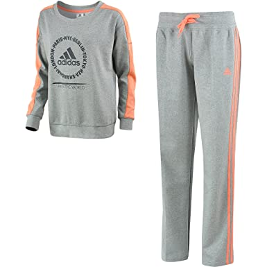 adidas Relax Cott Suit Sportanzug Trainingsanzug
