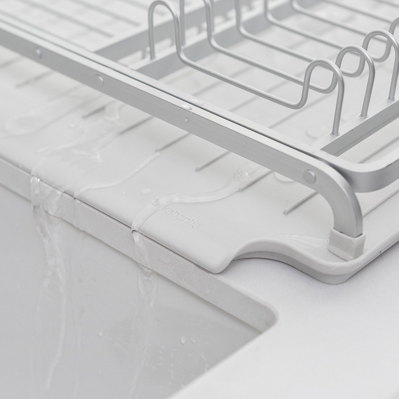 Brabantia /Égouttoir /à vaisselle Gris fonc/é 117404
