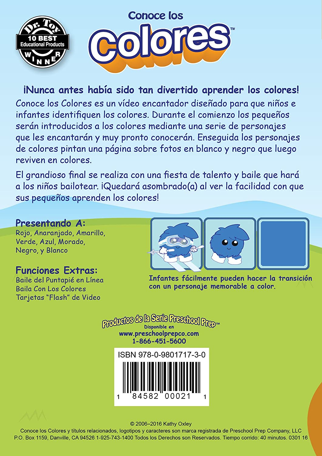 Amazon.com: Conoce los Colores - DVD: Animation, Kathy Oxley: Movies ...
