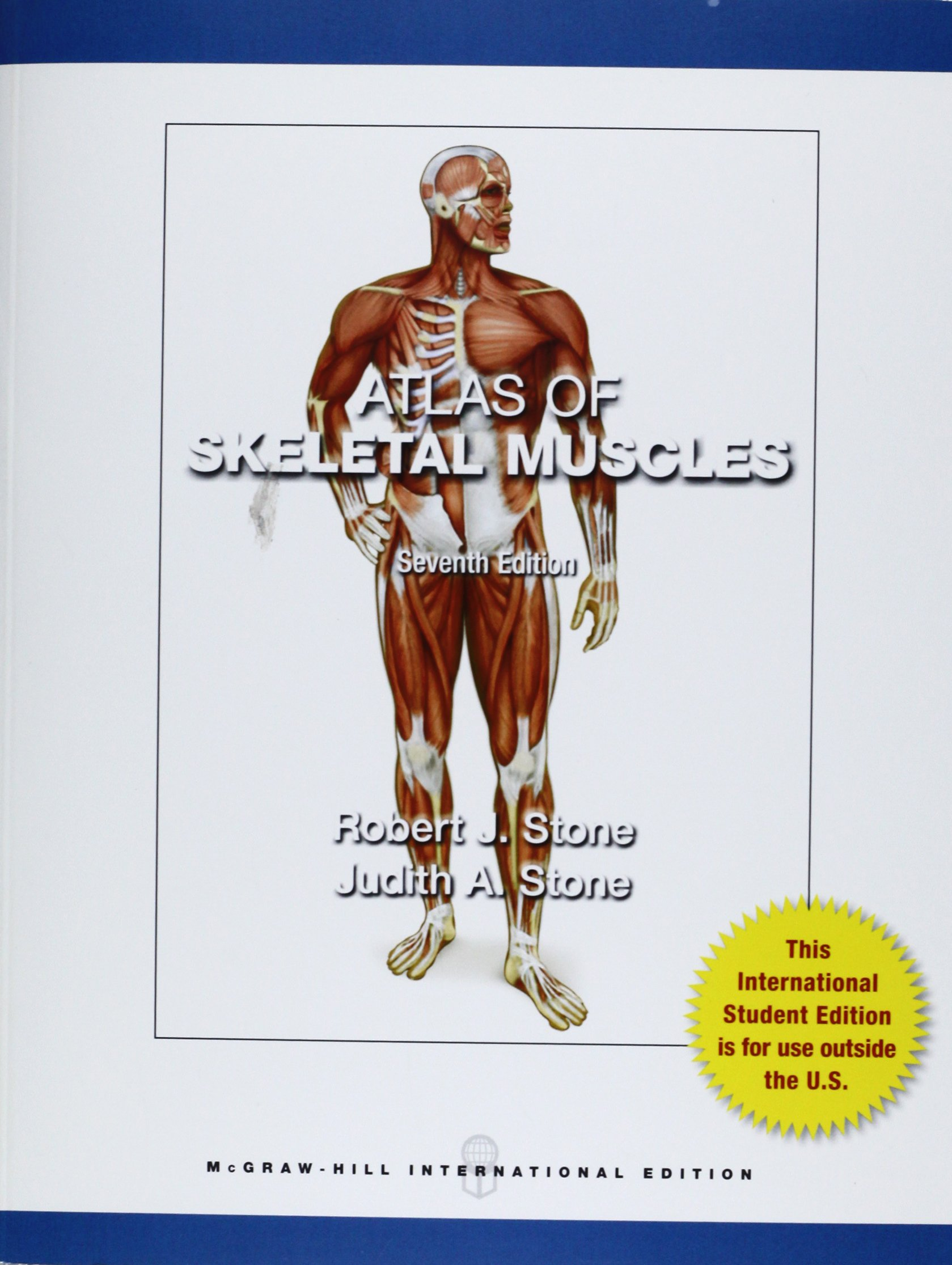 Atlas Of Skeletal Muscles Amazon Robert Stone Judith Stone