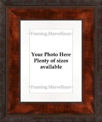 Amazon.com: Framing Marvellous Urban Bronze Effect Photo Picture ...