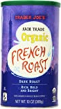 Trader Joe's Fair Trade Organic French Roast Dark Roast Whole Coffee Beans