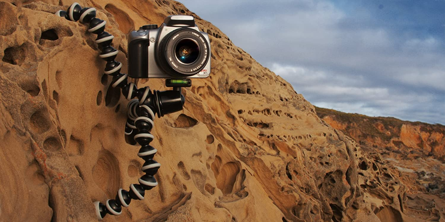 JOBY GorillaPod SLR Zoom 6.6lbs Flexible Tripod with Ballhead Bundle for DSLR and Mirrorless Cameras Up To 3kg. Renewed