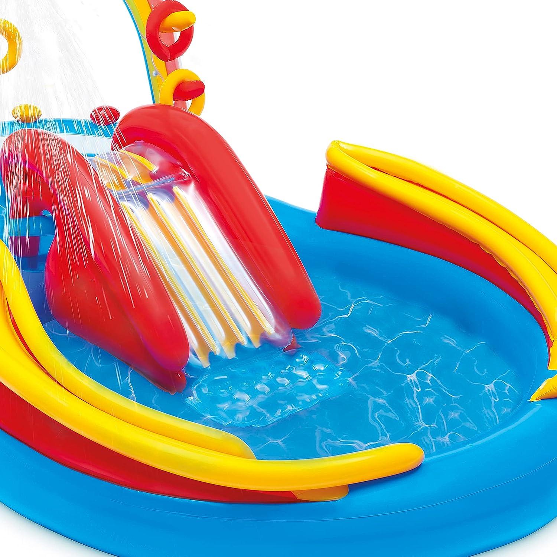 Intex 8 x 6.25 x 43 Dinosaur Play Center w// 5 x 48 Kids Swimming Pool