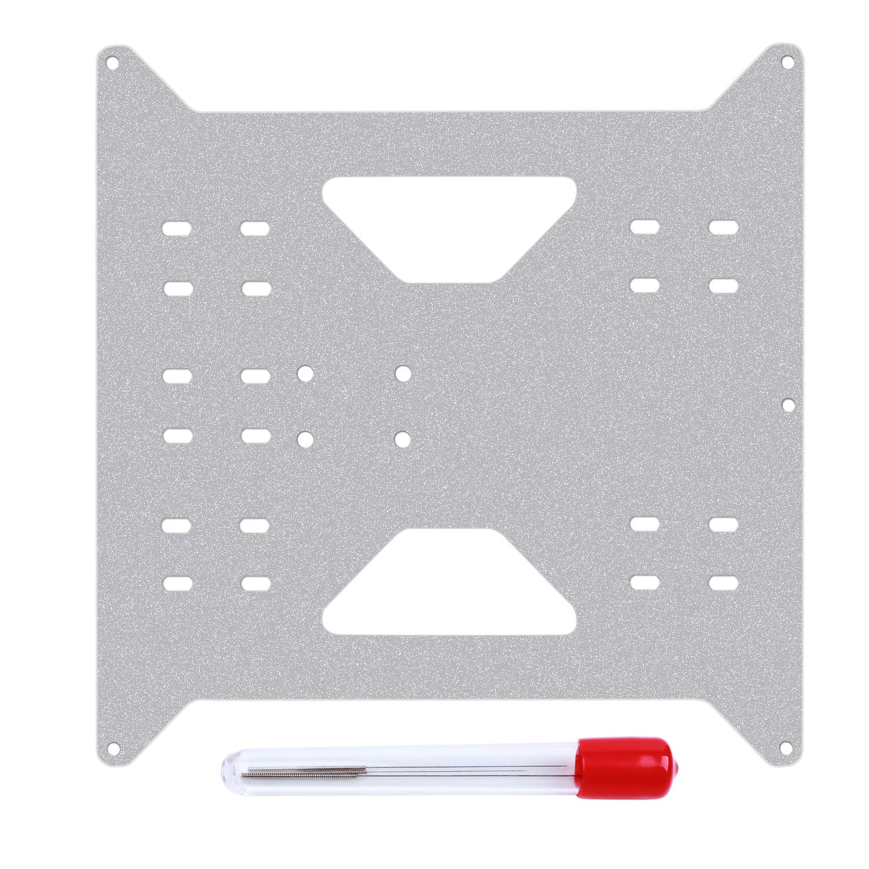 Li SUN Aluminium Y Carriage Plate Upgrade para Wanhao Duplic