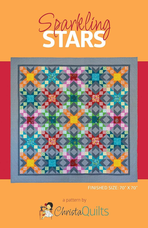 Christa Quilts Sparkling Stars Quilt Pattern