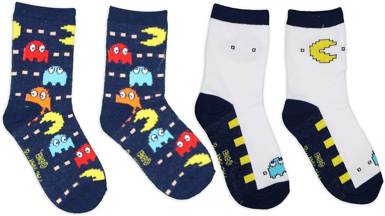Pac-Man Kids Socks Pack of 2 Pairs: Amazon.co.uk: Clothing
