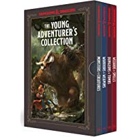 The Young Adventurer's Collection [Dungeons & Dragons 4-Book Boxed Set]: Monsters & Creatures, Warriors & Weapons, Dungeons & Tombs, and Wizards & Spells