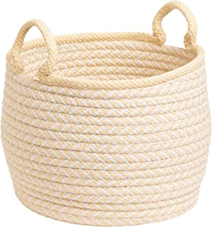 """product image for Colonial Mills Mistique Basket, 12""""x12""""x12"""", Yellow"""