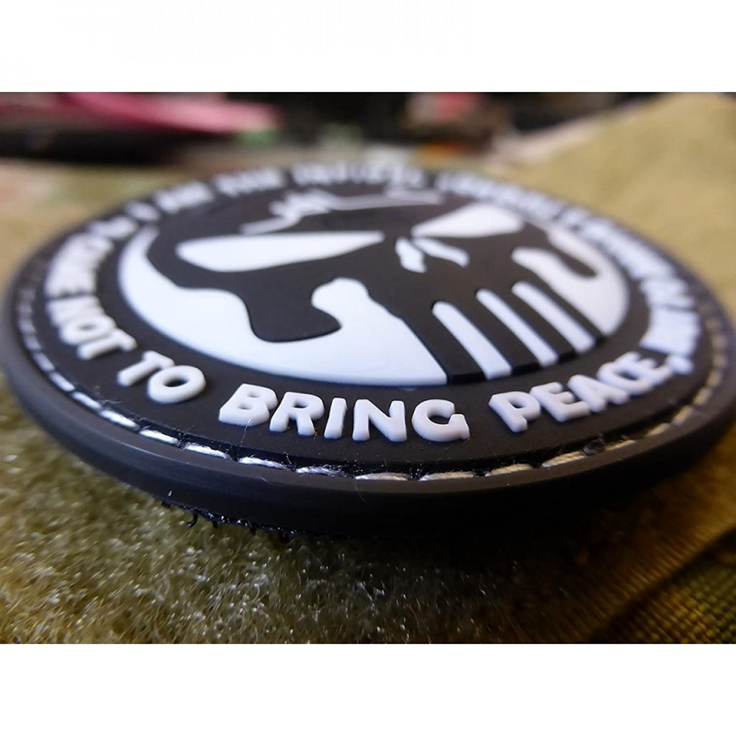 3D Rubber Patch SWAT Jackets To Go JTG The Infidel Punisher Patch