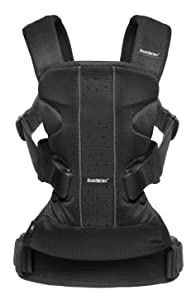 BabyBjorn Baby Carrier One Air – Black, Mesh