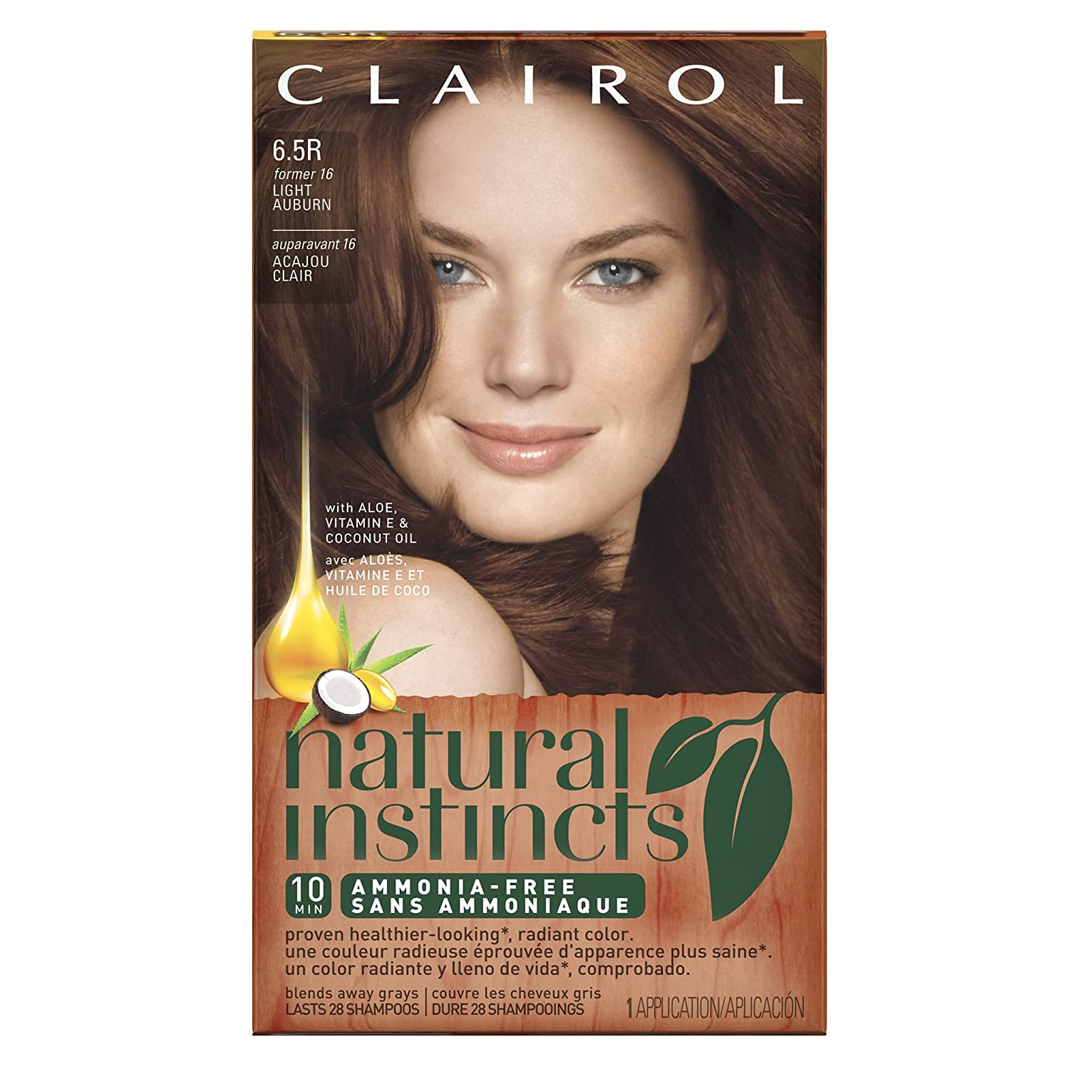 Amazon Com Clairol Natural Instincts Hair