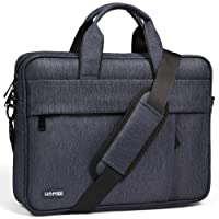 """HOMIEE 15-17 Inch Laptop Shoulder Bag, Protective Laptop Bag Waterproof Business Briefcases for Men & Women, Fits for 15"""" MacBook Pro, HP/Dell/Asus/Acer/Thinkpad/Samsung Laptops Notebooks"""