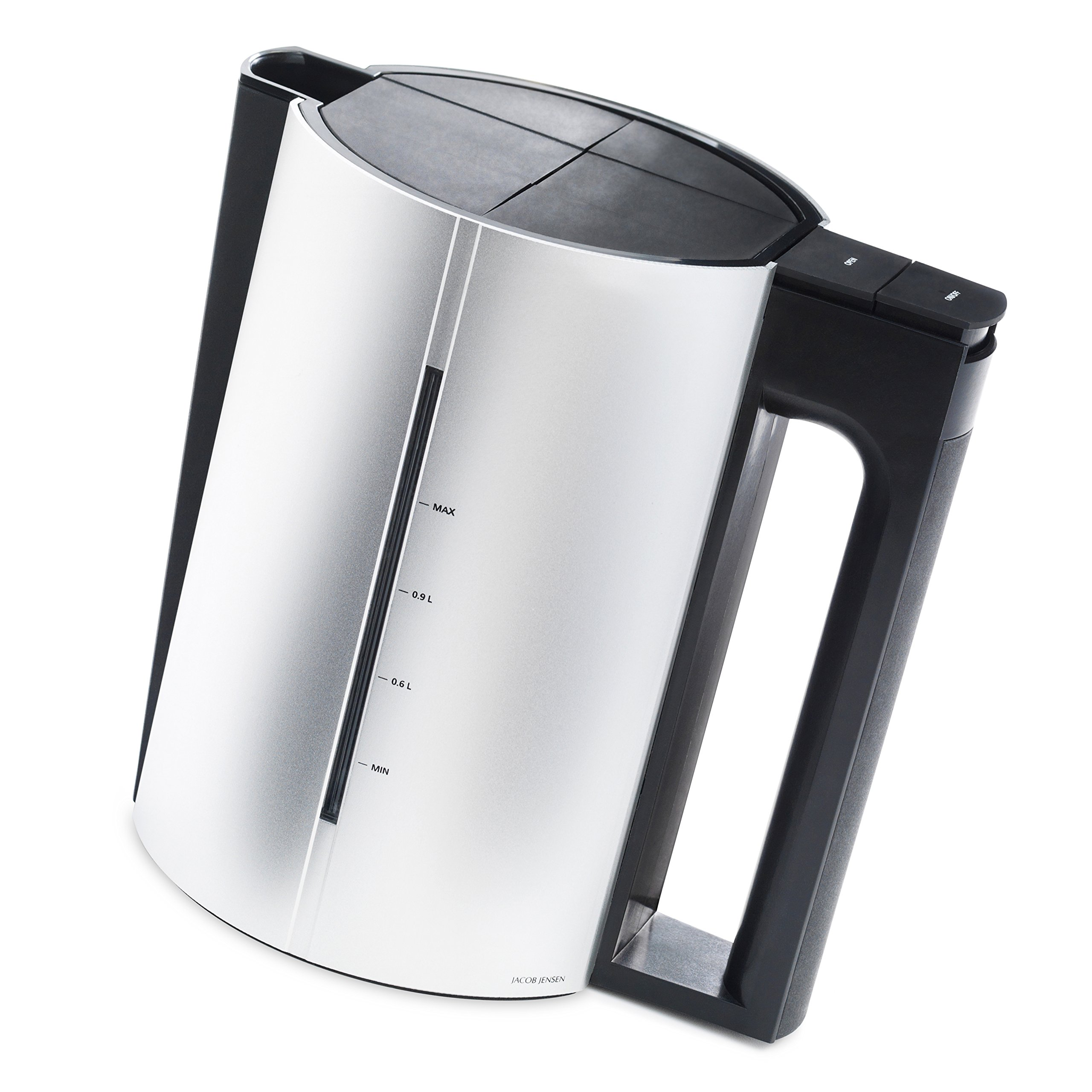jacob jensen designer electric kettle 1 2 litre aluminium. Black Bedroom Furniture Sets. Home Design Ideas