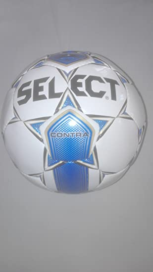 30a8fe20 Select Football Contra White/Blue Size 5: Amazon.co.uk: Sports ...