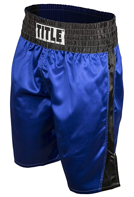 Title Boxing Youth Professional Satin Boxing Trunks