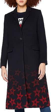 Tommy Hilfiger Norma Jacquard Coat Abrigo para Mujer