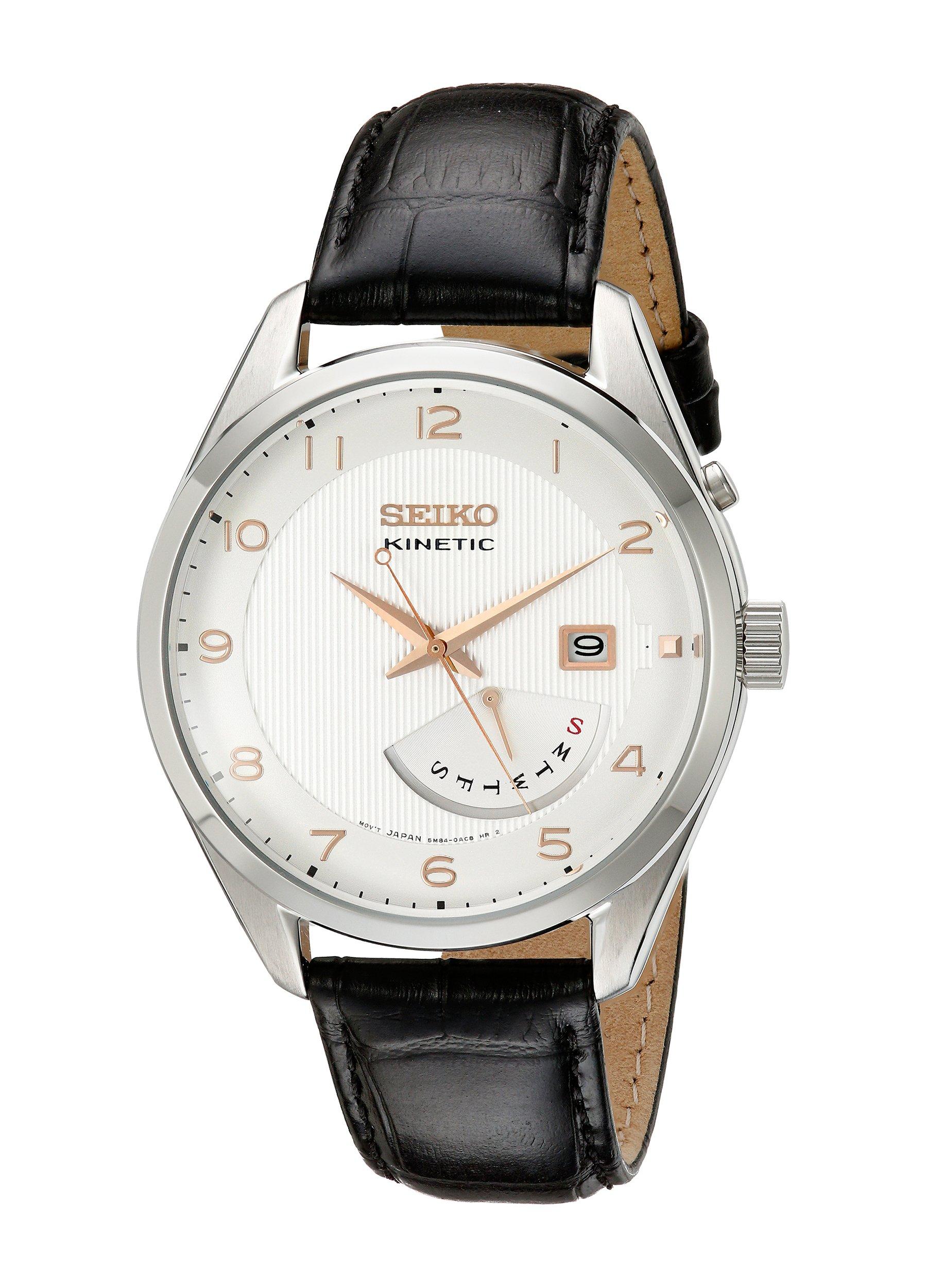 Seiko Men SRN049 Kinetic Stainless Steel Watch by SEIKO