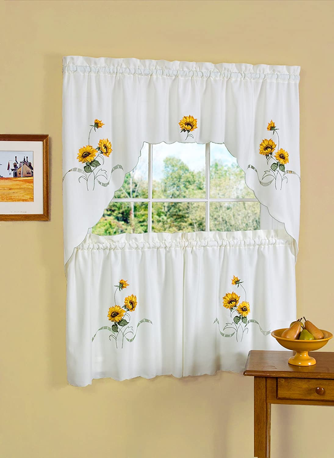 Pretty Sunflower Kitchen Decor Theme