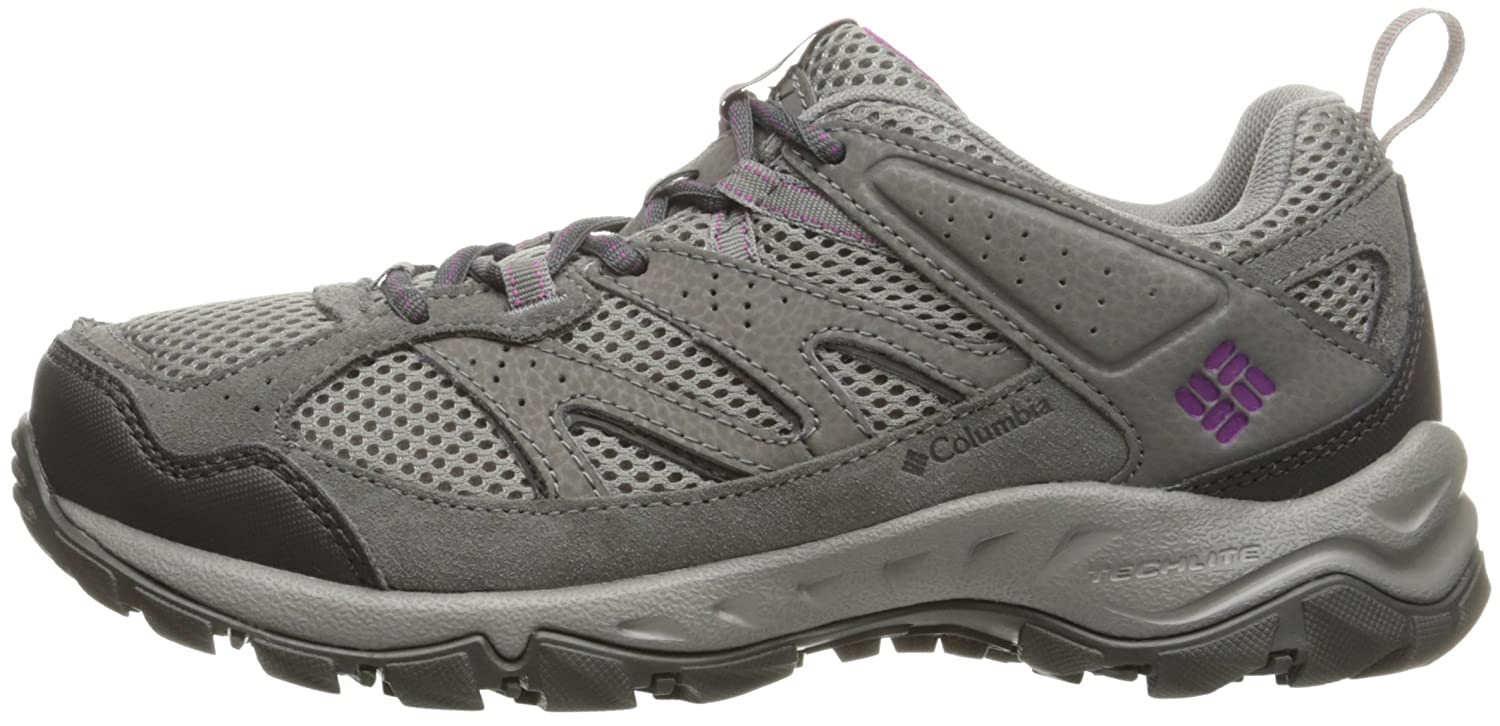 Columbia Plains Ridge Schuhes Damens 39,5) Light Grau/Intense Violet Größe US 8,5 (EU 39,5) Damens 2017 Schuhe - 2e08fa