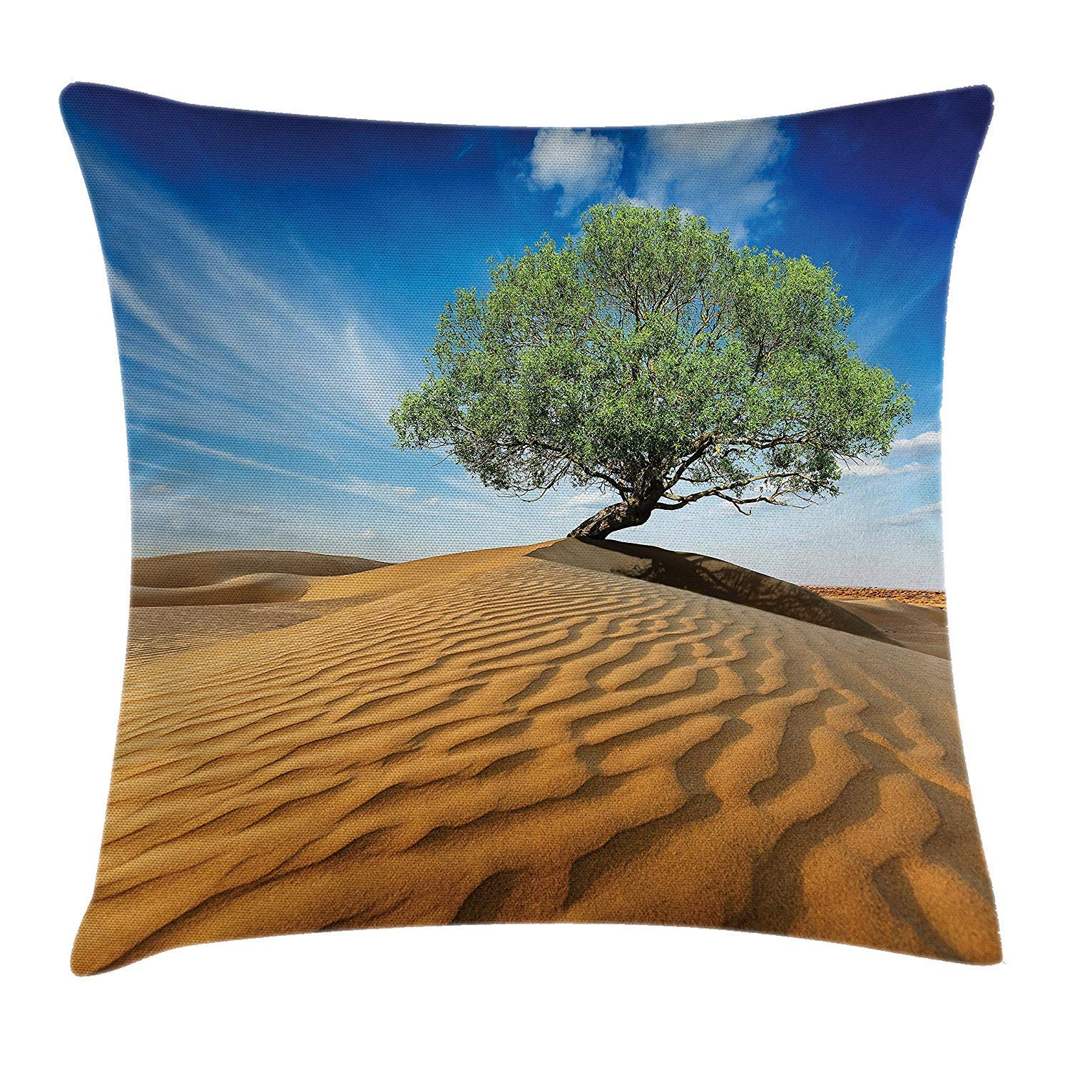 DAICHAI Tree of Life Throw Pillow Cushion Cover, Tree in The ...