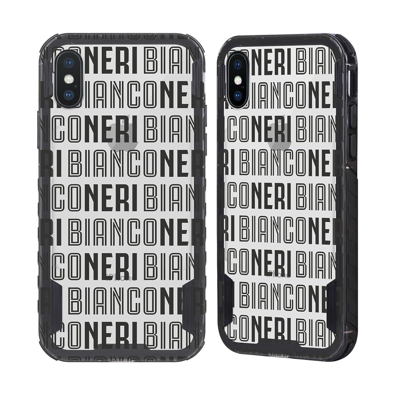 Head Case Designs Ufficiale Juventus Football Club Fino Alla Fine Nero Tipo Nero Evolution Case per Apple iPhone 7/iPhone 8 H5801-IPH7-JFCTYP-FBK