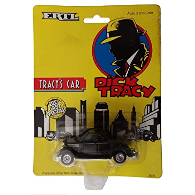 Ertl Collectibles Dick Tracey Tracey's car: Toys & Games