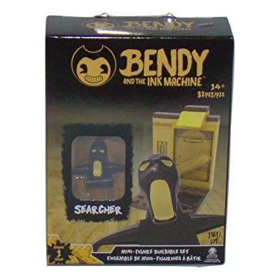 Basic Fun Bendy and The Ink Machine Mini Figure Searcher Buildable Set: Toys & Games