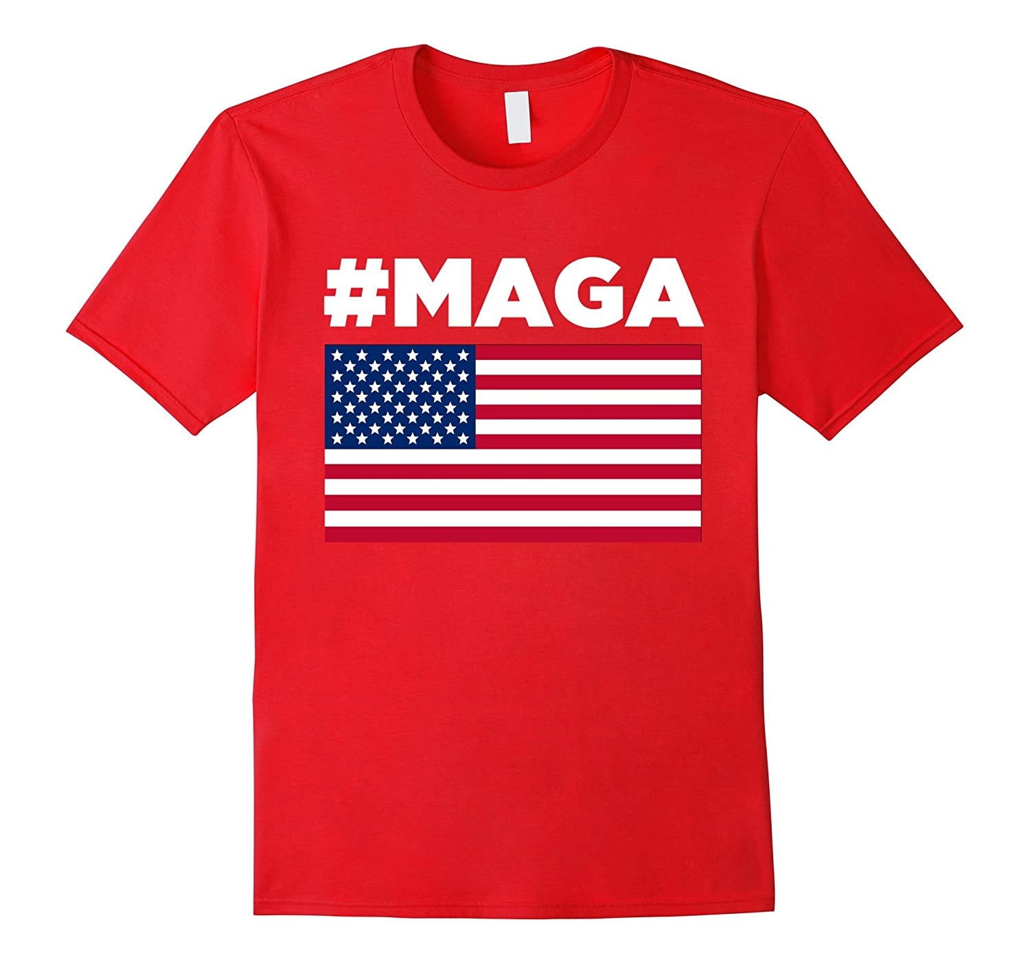 #MAGA T-Shirt - USA Patriotic Donald Trump maga Tee shirt-RT