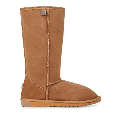 be573bfa0d EMU Australia Womens Stinger Hi Winter Real Sheepskin Boots Size 5