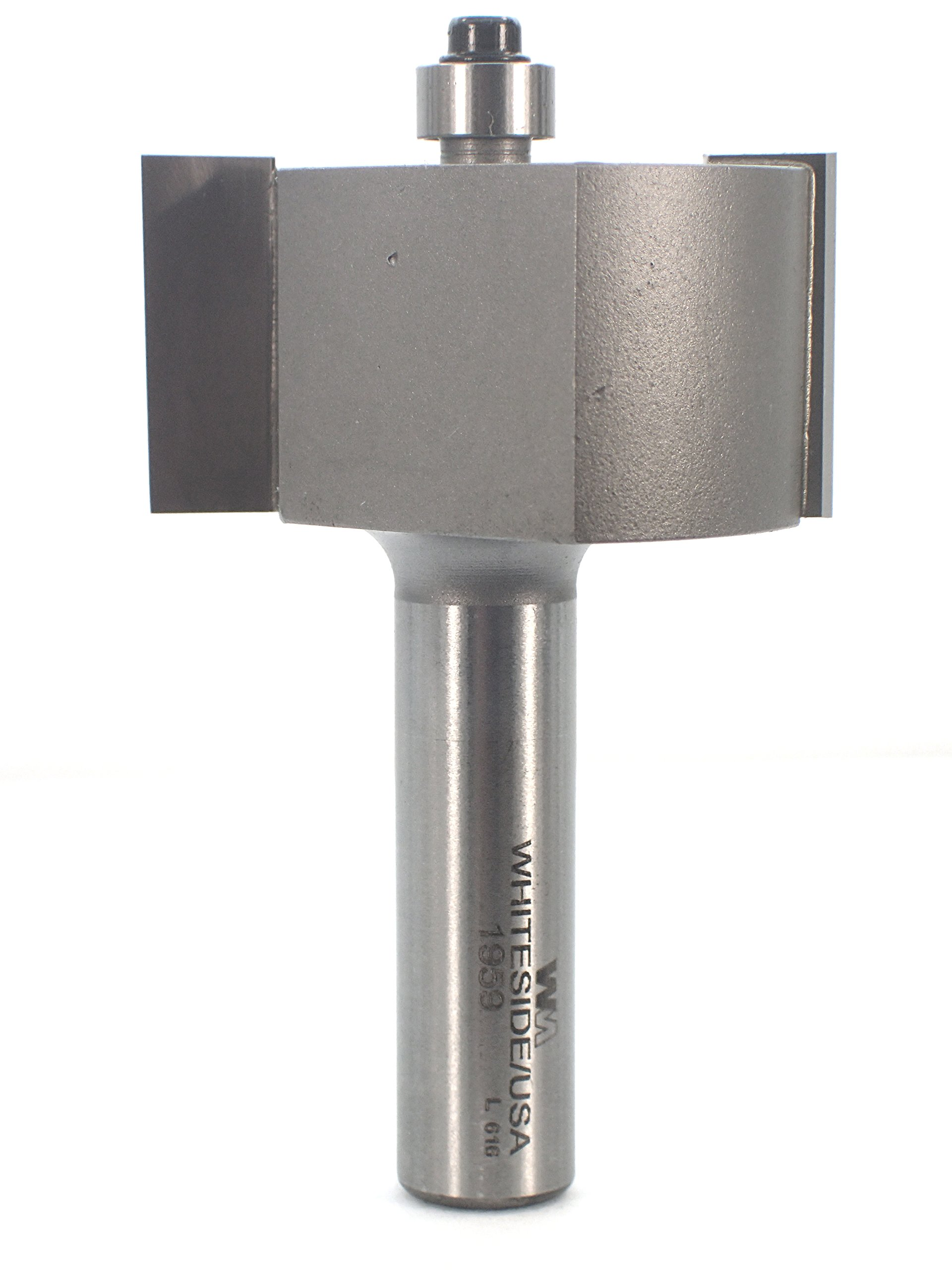 Whiteside Router Bits 1959 Rabbet Bit with 1-7/8-Inch Large Diameter and 1-Inch Cutting Length