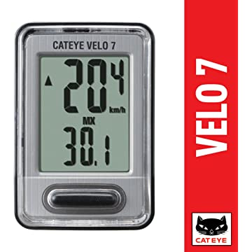 best CAT EYE - Velo 7 Wired Bike Computer with Speedometer reviews