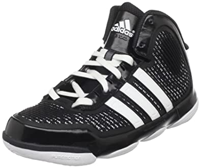 adidas Men's Adipure Basketball Shoe,BlackRunning WhiteRunning White,8.5 D