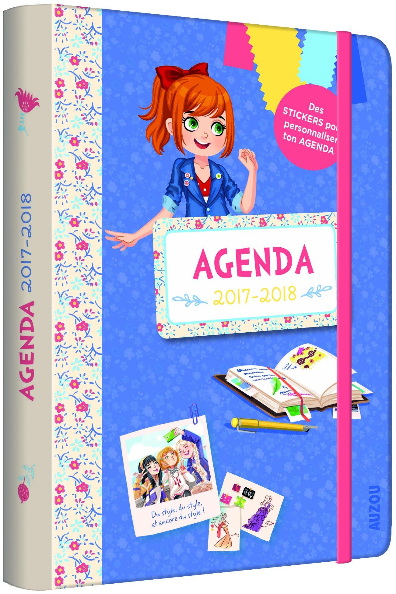 Agenda les Ptites Créatrices : Avec des stickers pour ...