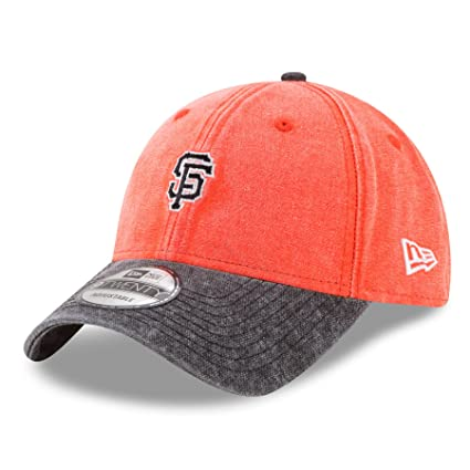 cbb0438e0d7f Image Unavailable. Image not available for. Color  New Era San Francisco  Giants 9Twenty MLB Rugged Canvas Adjustable Hat