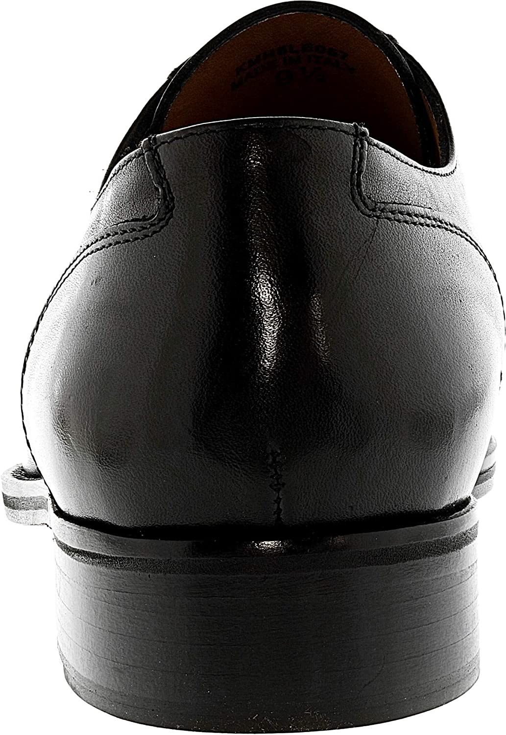 Kenneth Cole Mens Noble Man Ankle-High Leather Oxford Shoe