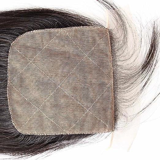 Amazon.com : Bella Hair 44 Free Part Silk Base Closure Brazilian Straight Hair 1pc Natural Color (10inch) : Beauty