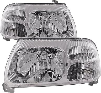 Headlights Headlamps Pair Left right for 99-05 Suzuki Vitara 99-03 Grand Vitara