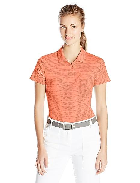 ea0d25ea2e93 Amazon.com   PUMA Golf Women s Space Dye Polo   Sports   Outdoors