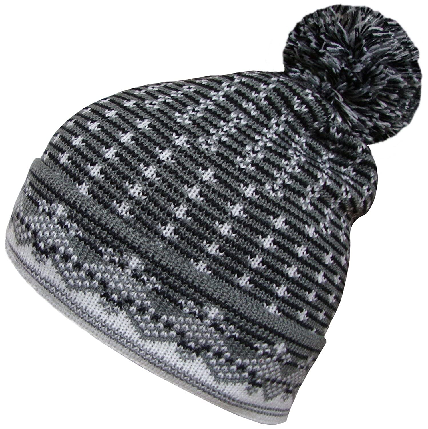 d5382c974 Mens Womens Oversized Beanies Winter Wooly Slouch Beanie Hat with ...