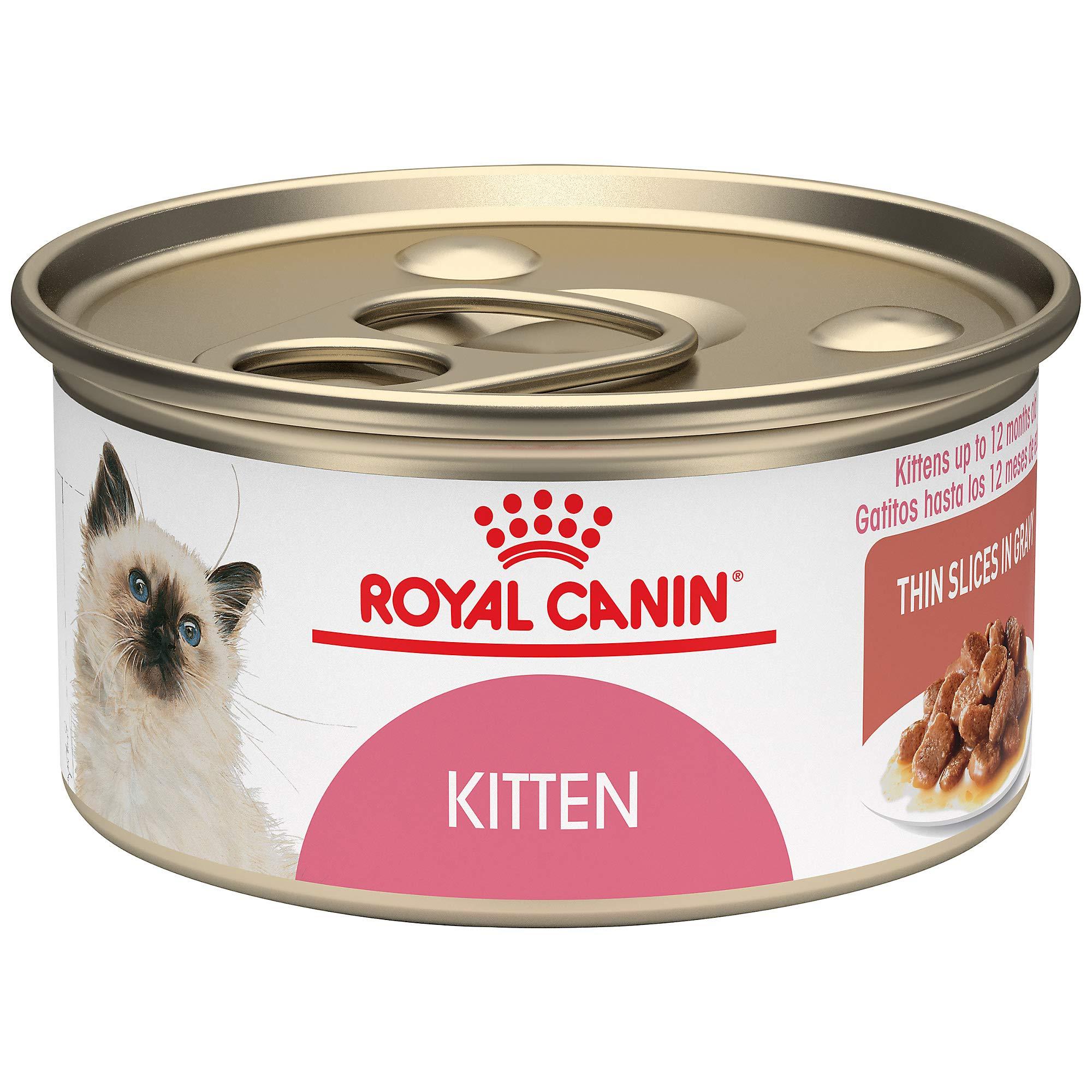 Royal Canin Feline Health Nutrition Thin Slices in Gravy Wet Kitten Food, 3 Ounce Can by Royal Canin