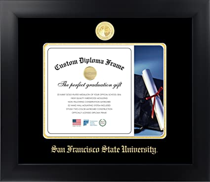 Amazon.com: Celebration Frames San Francisco State University 8½ x ...