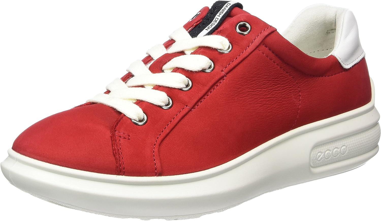 ECCO Ecco Soft 3, Women's Sneakers, Red