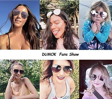 Amazon.com: Dumok DSR003 - Gafas de sol de aviador unisex ...