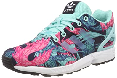 the best attitude 40c81 4d060 adidas Girls' Zx Flux J Fitness Shoes: Amazon.co.uk: Shoes ...