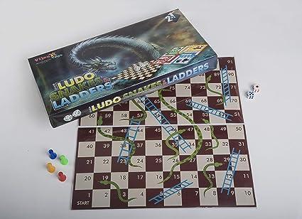 Ludo, Snake and Ladder (Senior)